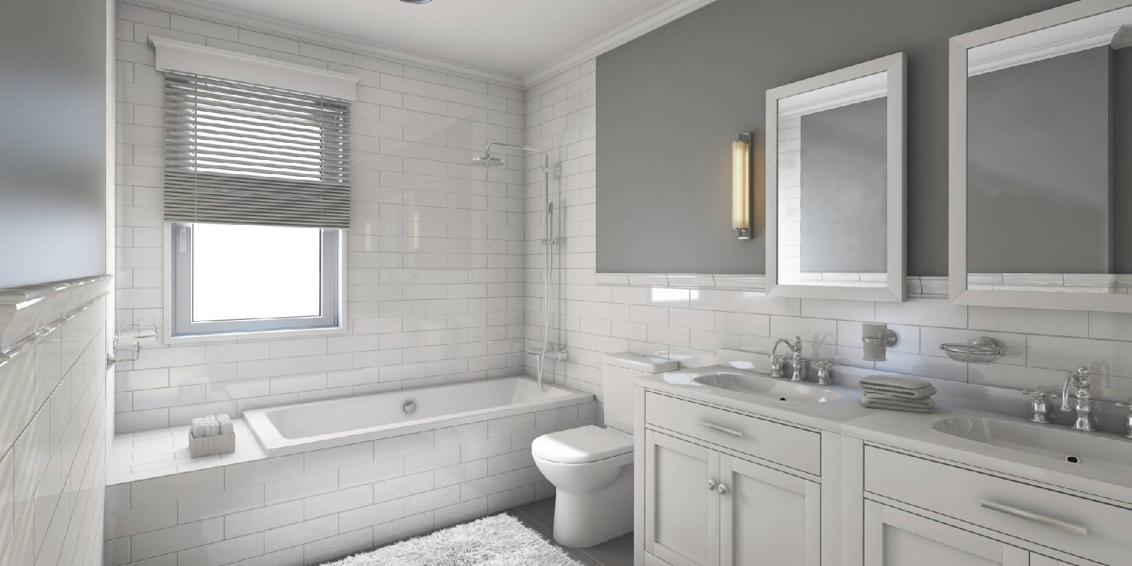 Bathrooms, fixtures & showers